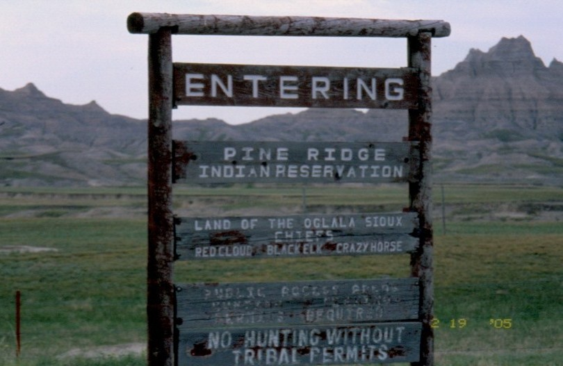 North Entrance Near the Badlands
